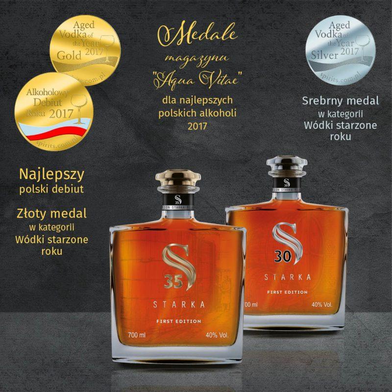 Starka medale Aqua Vitae 2017 kopia